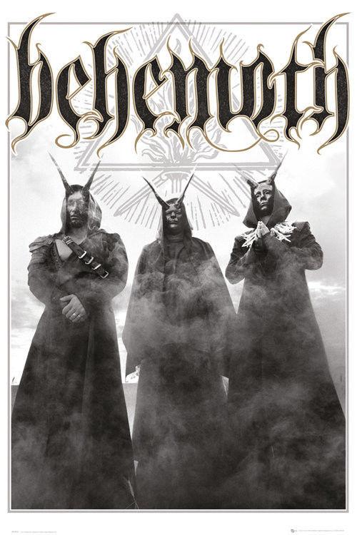 Plakat Behemoth Trio Sklep Metalheadpl Rockowe Ciuchy